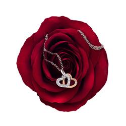 Obrázek è. 4 k produktu: Pøívìsek Hot Diamonds Valentines white topaz DP683