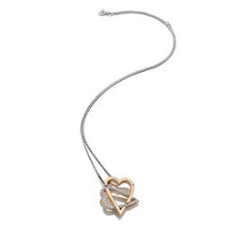 Obrázek è. 2 k produktu: Støíbrný pøívìsek Hot Diamonds Adorable Rose Gold DP694