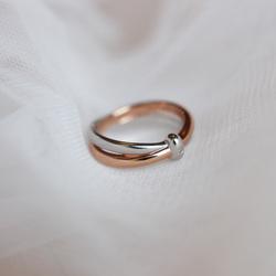 Obrázek è. 12 k produktu: Støíbrný prsten Hot Diamonds Eternity Vermeil