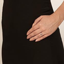 Obrázek è. 4 k produktu: Støíbrný prsten Hot Diamonds Love DR194