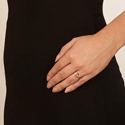 Obrázek è. 4 k produktu: Støíbrný prsten Hot Diamonds Love DR195