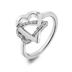 Støíbrný prsten Hot Diamonds Adorable DR203