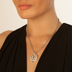 Obrázek è. 4 k produktu: Pøívìsek Hot Diamonds Emozioni Spirito Libero Freedom Champagne Coin 448-449