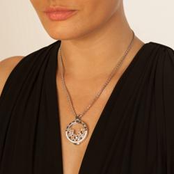 Obrázek è. 8 k produktu: Pøívìsek Hot Diamonds Emozioni Spirito Libero Freedom Champagne Coin 448-449