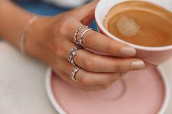 Obrázek č. 7 k produktu: Stříbrný prsten Hot Diamonds Willow DR208