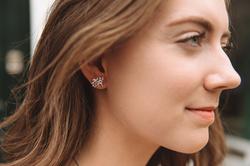 Obrázek è. 4 k produktu: Støíbrné náušnice Hot Diamonds Jasmine DE565