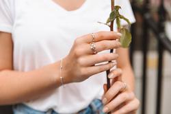 Obrázek č. 5 k produktu: Stříbrný prsten Hot Diamonds Willow DR206
