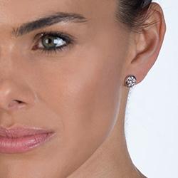 Obrázek è. 6 k produktu: Støíbrné náušnice Hot Diamonds Emozioni Alloro Innocence EE026