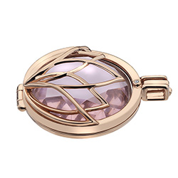Obrázek è. 4 k produktu: Støíbrný pøívìsek Hot Diamonds Emozioni Rinscita Rose Gold Plated Coin Keeper EK038
