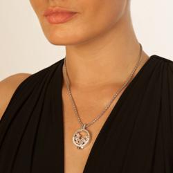Obrázek è. 4 k produktu: Støíbrný pøívìsek Hot Diamonds Emozioni Reflessi Coin Keeper EK043-44