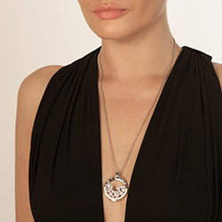 Obrázek č. 3 k produktu: Stříbrný přívěsek Hot Diamonds Emozioni Reflessi Coin Keeper EK044