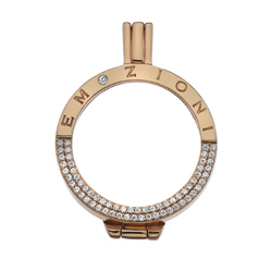 Støíbrný pøívìsek Hot Diamonds Emozioni Reflessi Coin Keeper RG EK045-46