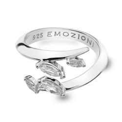 Støíbrný prsten Hot Diamonds Emozioni Alloro se zirkony ER023