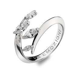 Obrázek è. 2 k produktu: Støíbrný prsten Hot Diamonds Emozioni se zirkony ER023