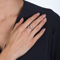 Obrázek è. 6 k produktu: Støíbrný prsten Hot Diamonds Emozioni se zirkony ER023