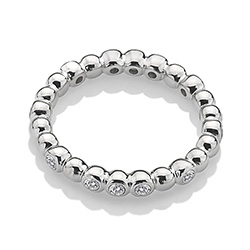Støíbrný prsten Hot Diamonds Emozioni ER024
