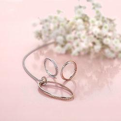 Obrázek è. 4 k produktu: Støíbrný prsten Hot Diamonds Jasmine DR210