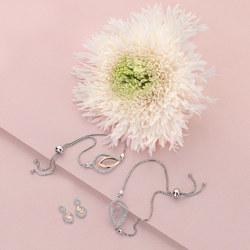 Obrázek è. 2 k produktu: Støíbrný náramek Hot Diamonds Lily DL592