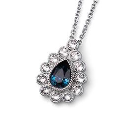 Støíbrný pøívìsek s krystaly Swarovski Oliver Weber 11760R-207