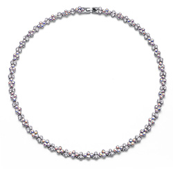 Støíbrný náhrdelník s krystaly Swarovski Oliver Weber 11788