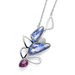 Přívěsek s krystaly Swarovski Oliver Weber Blossom 11821