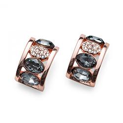 Náušnice s krystaly Swarovski Oliver Weber 22651RG