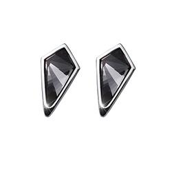 Stříbrné náušnice s krystaly Swarovski Oliver Weber 22691