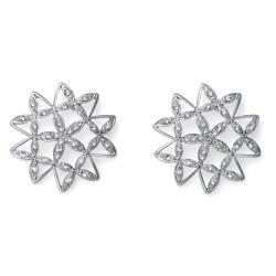 Náušnice s krystaly Swarovski Oliver Weber Mandala 22726