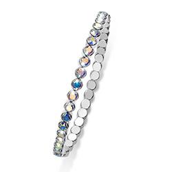 Stříbrný náramek s krystaly Swarovski Oliver Weber 31013-AB