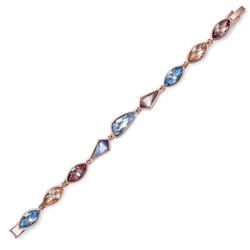 Náramek s krystaly Swarovski Oliver Weber  Artnew rosado multi 32219
