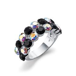Støíbrný  prsten s krystaly Swarovski Oliver Weber 41139L-280