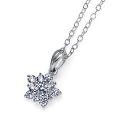 Stříbrný přívěsek s krystaly Swarovski Oliver Weber Subtle 61137R