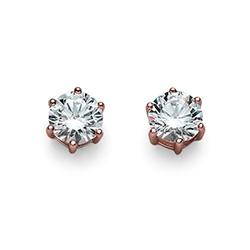 Náušnice s krystaly Swarovski Oliver Weber 62066RG-001
