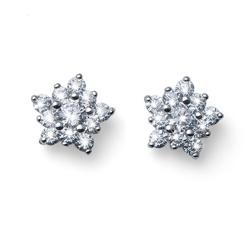 Náušnice s krystaly Swarovski Oliver Weber Subtle 62080R