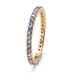 Prsten s krystaly Swarovski Oliver Weber 63225GL-BLU