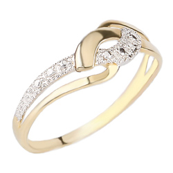 Zlatý prsten Présence A25-756