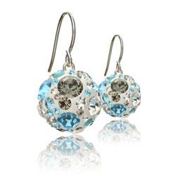 St��brn� n�u�nice s krystaly Swarovski Aquarius Diamond Cosmos
