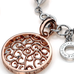 Obrázek č. 1 k produktu: Stříbrný náramek Hot Diamonds Emozioni Plate Bead Luxury