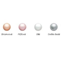 Obrázek č. 1 k produktu: Dětské stříbrné náušnice s perličkou C2410-10