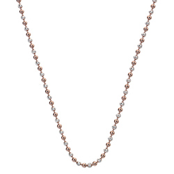 Støíbrný øetízek Hot Diamonds Emozioni Bead Silver Rose 76