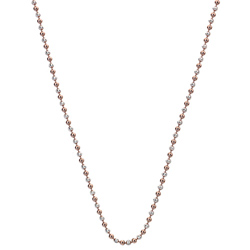 Støíbrný øetízek Hot Diamonds Emozioni Bead Silver Rose 89