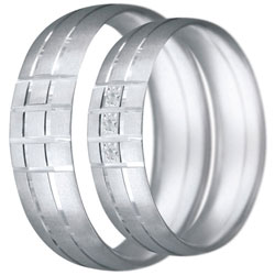 Snubní prsteny kolekce CLAUDIA11