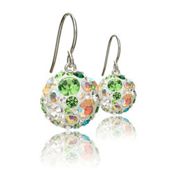 St��brn� n�u�nice s krystaly Swarovski Colourful World Cosmos