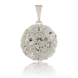 Stříbrný přívěsek s krystaly Swarovski Crystallis Cosmos