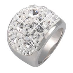 Prsten s krystaly Swarovski Crystal Cosmos Exkluzive
