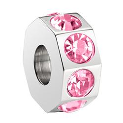 Pøívìsek Morellato Drops Crystal Light Rose