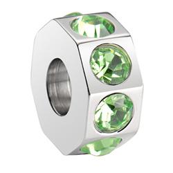 Pøívìsek Morellato Drops Crystal Green