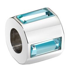 Pøívìsek Morellato Drops Crystal Aquamarine Baguette