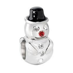 Pøívìsek Morellato Drops Christmas Snowman