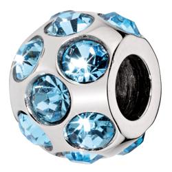Pøívìsek Morellato Drops Light Blue CZ38